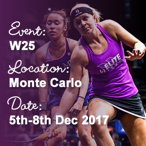Fiona Moverley heads to Monte Carlo to compete in the W25 on 5th December 2017